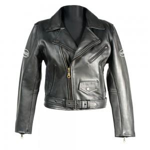 Мотокуртка Ivagio женская, цвет черный