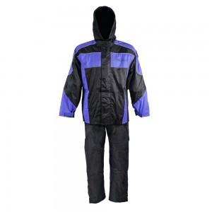 Защитный костюм от дождя и грязи LOTUS цвет черный синий