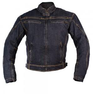 Джинсовая мотокуртка BOSA, мужская чвет черный