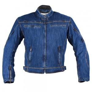 Джинсовая мотокуртка BOSA, мужская цвет синий
