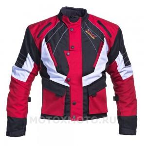 Enduro Red текстильная мотокуртка
