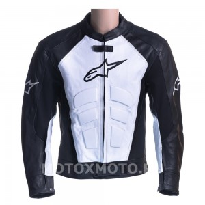 Alpinestars Black & White  мотокуртка