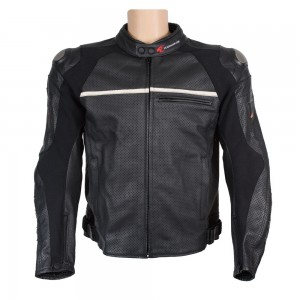 Куртка  JK-529 TITANIUM LEATHER JACKET LEVATA PUCHING