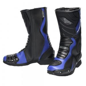 Мотоциклетные ботинки BOSA RACER blue (мотоботы)