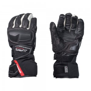 Komine Protect W-Gloves-IDEO цвет черный белый