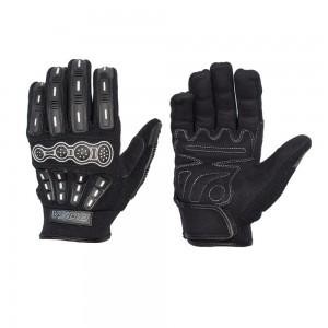 Кроссовые перчатки с защитой LOGAN