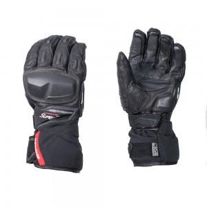 Перчатки Komine Protect W-Gloves-IDEO цвет черный