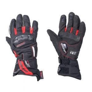 Перчатки Komine SuperFIT Carbon W-Gloves-DIO цвет черный красный