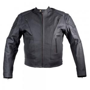 Кожаная мотокуртка Robber (matt leater)