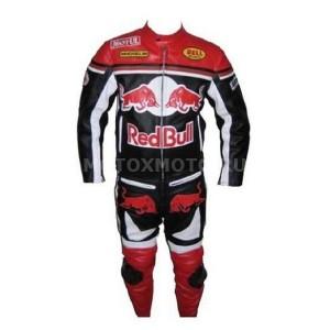 Red Bull Racing кожаный мотокомбинезон