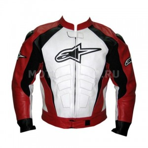 Alpinestars Black White & Red мотокуртка