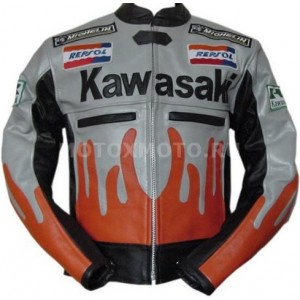 Мотокуртка Kawasaki Flame Style