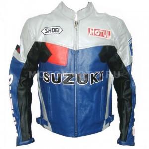 Мотокуртка Suzuki Blue and white