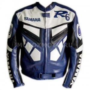 Мотокуртка Yamaha R6 Blue  and white