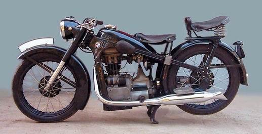 Обзор мотоцикла BMW R 35