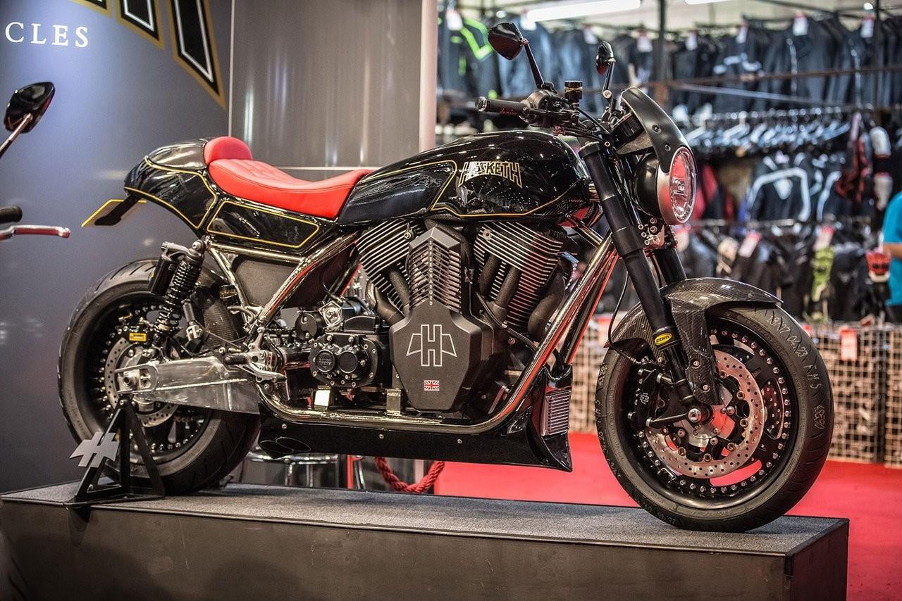 Обзор мотоцикла Hesketh Valiant 2018 года