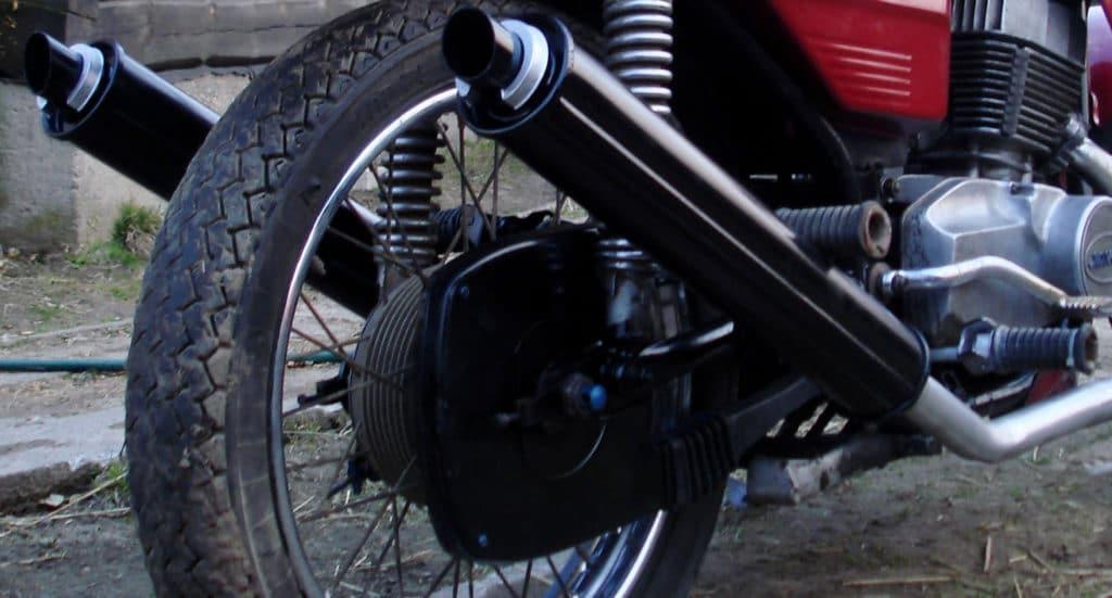 Способы снижения выхлопного шума мотоцикла
