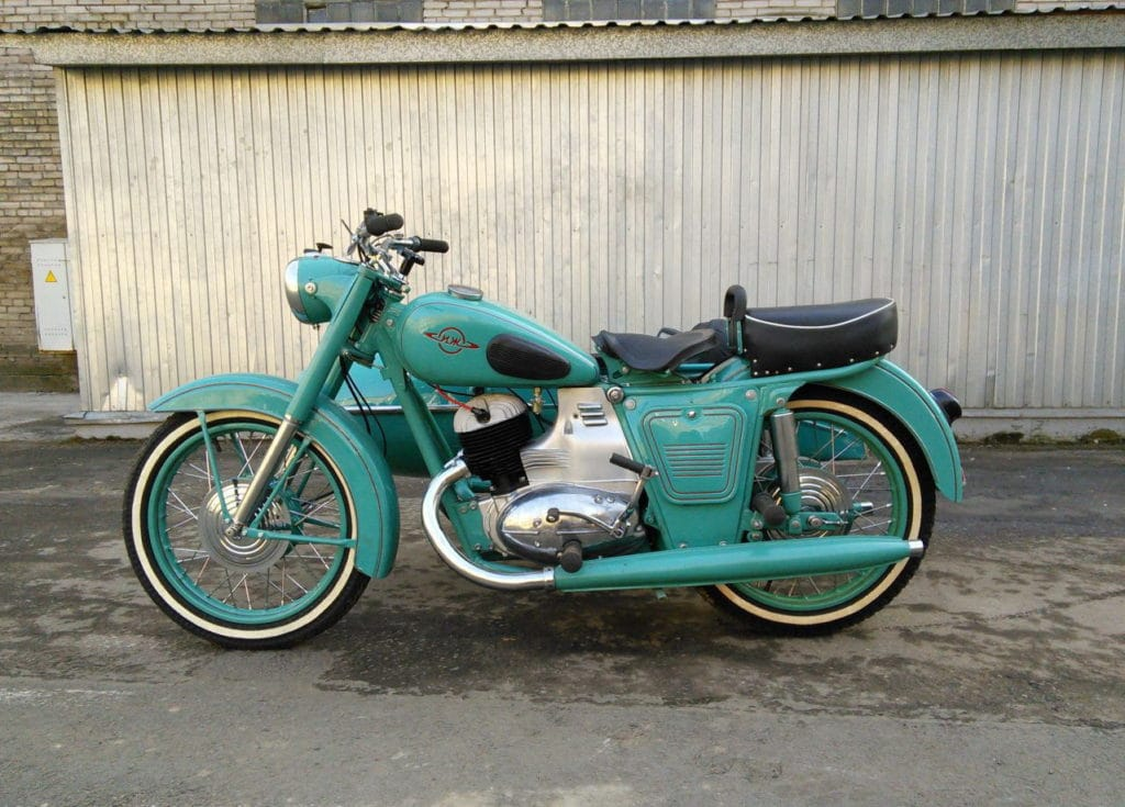Мотоцикл ИЖ-56