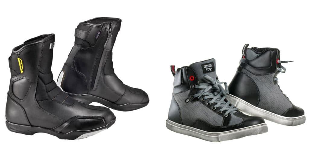 Туристические ботинки для мотоциклиста