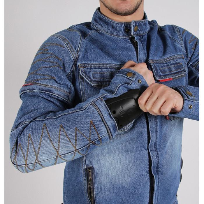 Джинсовые куртки для мотоциклиста